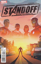 Image: Avengers Standoff Welcome to Pleasant Hill #1 (variant cover - Rhodes) - Marvel Comics