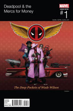 Image: Deadpool & the Mercs for Money #1 (Hip Hop variant cover) - Marvel Comics