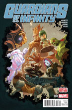 Image: Guardians of Infinity #3 - Marvel Comics