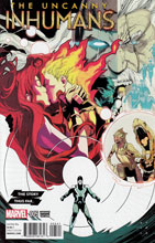 Image: Uncanny Inhumans #5 (Anka The Story Thus Far variant cover - 00541) - Marvel Comics