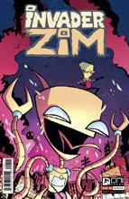 Image: Invader Zim #8 - Oni Press Inc.