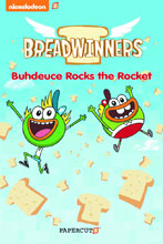 Image: Breadwinners Vol. 02: Buhdeuce Rocks the Rocket GN  - Papercutz