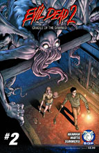 Image: Evil Dead 2: Cradle of the Damned #2 - Space Goat Publishing