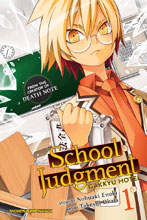 Image: School Judgment Gakkyu Hotei Vol. 01 GN  - Viz Media LLC
