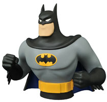 Image: Batman the Animated Series Vinyl Bust Bank: Batman  -