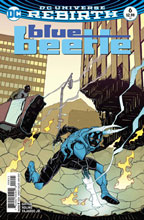 Image: Blue Beetle #6 (variant cover - Cully Hamner) - DC Comics