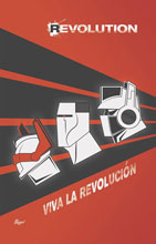 Image: Revolution Deluxe Edition HC  (James Biggie cover) - IDW Publishing