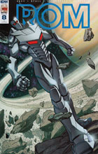 Image: Rom #8 (incentive cover - Jeff Zornow) (10-copy) - IDW Publishing