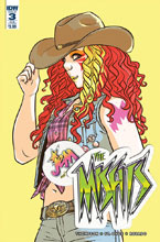Image: Jem: The Misfits #3 (subscription cover - Jenn St-Onge)  [2017] - IDW Publishing