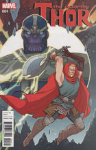 Image: Unworthy Thor #4 (variant cover - Sauvage) - Marvel Comics