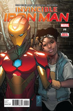 Image: Invincible Iron Man #4 [2017] - Marvel Comics