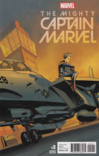 Image: Mighty Captain Marvel #2 (McKone variant cover - 00221)  [2017] - Marvel Comics