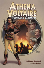 Image: Athena Voltaire and the Volcano Goddess Vol. 01 SC  - Action Lab Entertainment