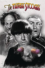 Image: The Three Stooges Vol. 01: The Boys Are Back SC  - American Mythology Productions