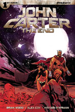 Image: John Carter: The End #1 (cover A - Brown) - Dynamite