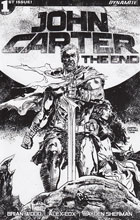 Image: John Carter: The End #1 (Hardman b&w incentive cover - 01081) (30-copy) - Dynamite