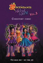 Image: Disney Descendants Wicked World Cinestory Vol. 03 SC  - Joe Books Inc.