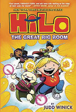 Image: Hilo Vol. 03: Great Big Boom GN  - Random House Books For Young R