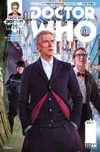 Image: Doctor Who: The 12th Doctor Year Three #2 (cover B - Photo) - Titan Comics