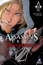Image: Assassin's Creed: Awakening #4 (cover A - Kenji Oiwa)  [2017] - Titan Comics