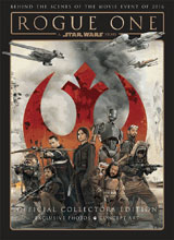 Image: Rogue One: A Star Wars Story - The Official Collector's Edition  (newsstand cover) - Titan Comics