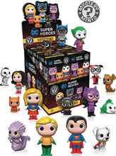 Image: DC Heroes & Pets Mystery Minis Series 1 12-Piece Blind Mystery Box Display  - Funko