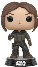 Image: Pop! Star Wars Rogue One Vinyl Bobble-Head 138: Jyn Erso  - Funko