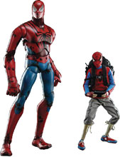 Image: 3A X Marvel Figure: Peter Parker Spider-Man  (Retail edition) (1/6 scale) - Three A Trading Company Ltd