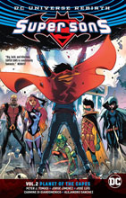 Image: Super Sons Vol. 02: Planet of the Capes SC  (Rebirth) - DC Comics