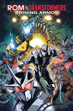 Image: Rom vs. Transformers: Shinning Armor SC  - IDW Publishing