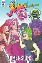 Image: Jem & the Holograms: Dimensions #4 (cover B - Fischer) - IDW Publishing