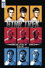 Image: Star Trek: Boldly Go #17 (cover A - To) - IDW Publishing