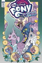 Image: My Little Pony: Legends of Magic #11 (cover B - Hickey) - IDW Publishing