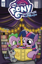 Image: My Little Pony: Legends of Magic #11 (variant incentive cover - Magdalene Calbraith) (10-copy) - IDW Publishing
