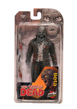 Image: Walking Dead Action Figure: Beta  (B&W Bloody) - Image Comics