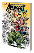 Image: Color Your Own Avengers SC  - Marvel Comics