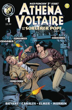 Image: Athena Voltaire 2018 #1 (cover A - Bryant) - Action Lab Entertainment