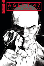 Image: Agent 47: Birth of Hitman #4 (cover C incentive - B&W) (10-copy)  [2018] - Dynamite