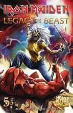 Image: Iron Maiden: Legacy of the Beast #5 (cover A - Casas)  [2018] - Heavy Metal Magazine