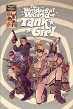 Image: Wonderful World of Tank Girl HC  - Titan Comics
