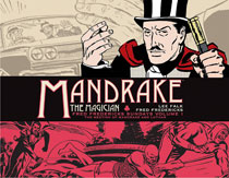 Image: Mandrake the Magician: Fred Fredericks Dailies Vol. 02 HC  - Titan Comics