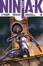 Image: Ninja-K #4 (cover A - Cafu) - Valiant Entertainment LLC