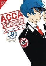 Image: Acca 13: Territory Inspection Dept. Vol. 02 GN  - Yen Press