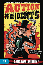 Image: Action Presidents Book 02: Abraham Lincoln HC  - Harper Collins Publishers