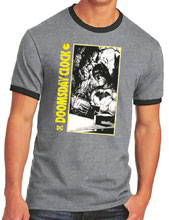 Image: Batman Ringer T-Shirt: Doomsday Clock  (L) - Graphitti Designs