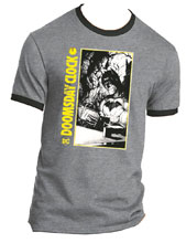 Image: Batman Ringer T-Shirt: Doomsday Clock  (XL) - Graphitti Designs