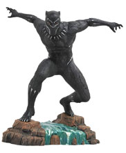 Image: Marvel Gallery PVC Statue: Black Panther Movie  - Diamond Select Toys LLC