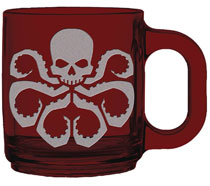 Image: Avengers Etched Mug: Hydra  - Surreal Entertainment