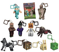 Image: Minecraft Action Figure Hanger 24-Piece Blind Mystery Box Display Series 3  - Ucc Distributing