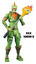 Image: Fortnite Rex Premium Action Figure Case  (7 inch) - Tmp Toys / Mcfarlane's Toys